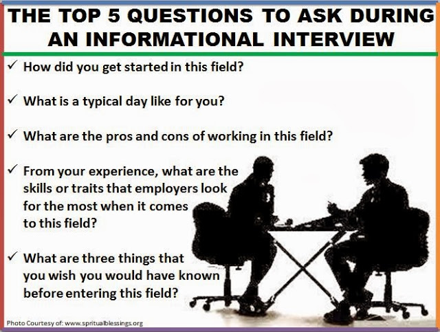 informational interview questions to ask