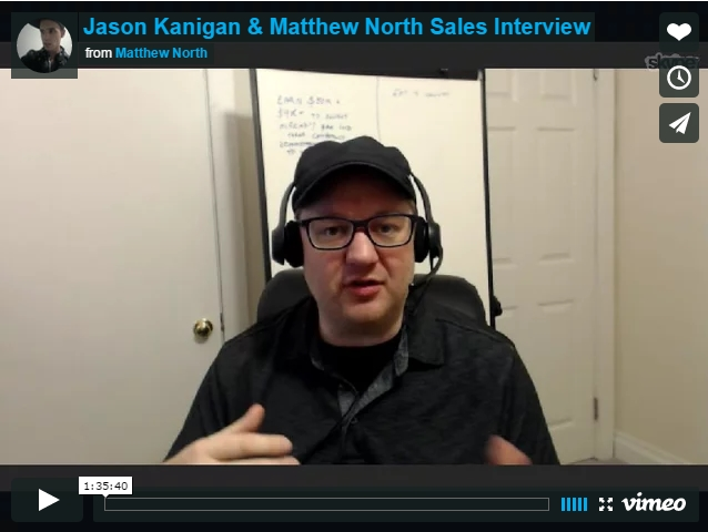 Jason Kanigan and Matthew North Interview
