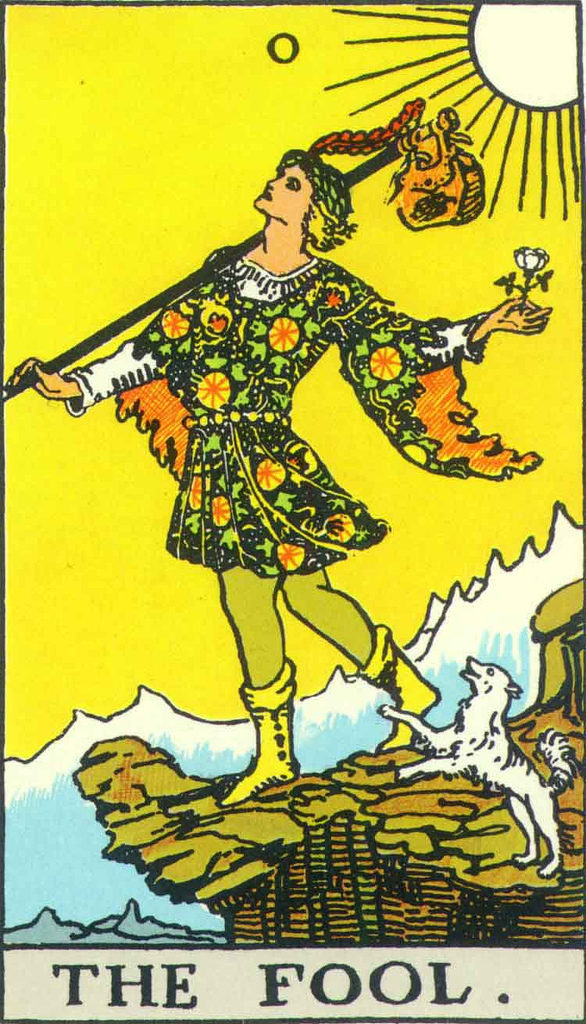 fool card mythic tarot fool's journey i'll do it later