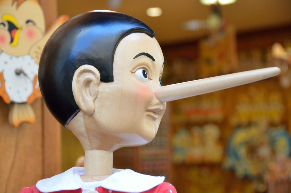 pinocchio liar how to filter out fake gurus
