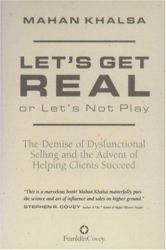 let's get real or let's not play sales book mahan khalsa