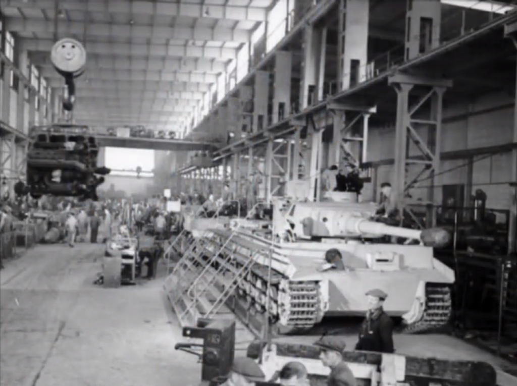 german world war 2 tank production scaling up business growth